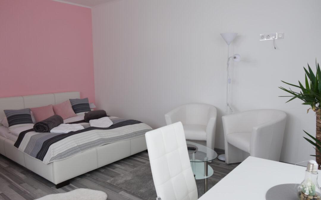 Róza kétágyas stúdió apartman